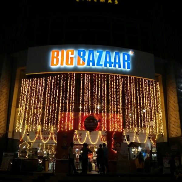 Big Bazaar is an Indian retail store that operates as a chain of hypermarkets, discount department stores, and grocery stores. The retail chain was founded by Kishore Biyani under his parent organisation Future Group, which is known for having a significant prominence in Indian retail and fashion sectors. Big Bazaar is also the parent chain of Food Bazaar, Fashion at Big Bazaar (abbreviated as fbb) and eZone where at locations it houses all under one roof, while it is sister chain of retail outlets like Brand Factory, Home Town, Central, eZone, etc.Founded in 2001,Big Bazaar is one of the oldest[4] and largest hypermarkets chain[5][6] of India, housing about 250+ stores in over 120 cities and towns across the country